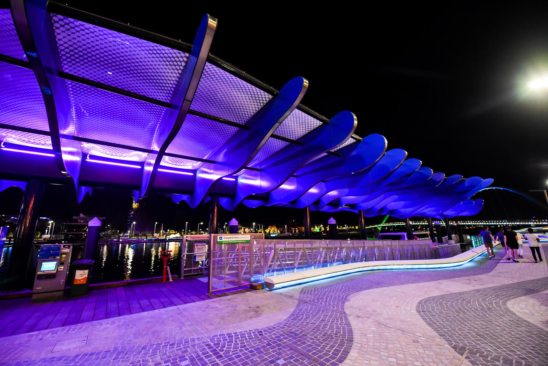 Ferry Terminal - Elizabeth Quay