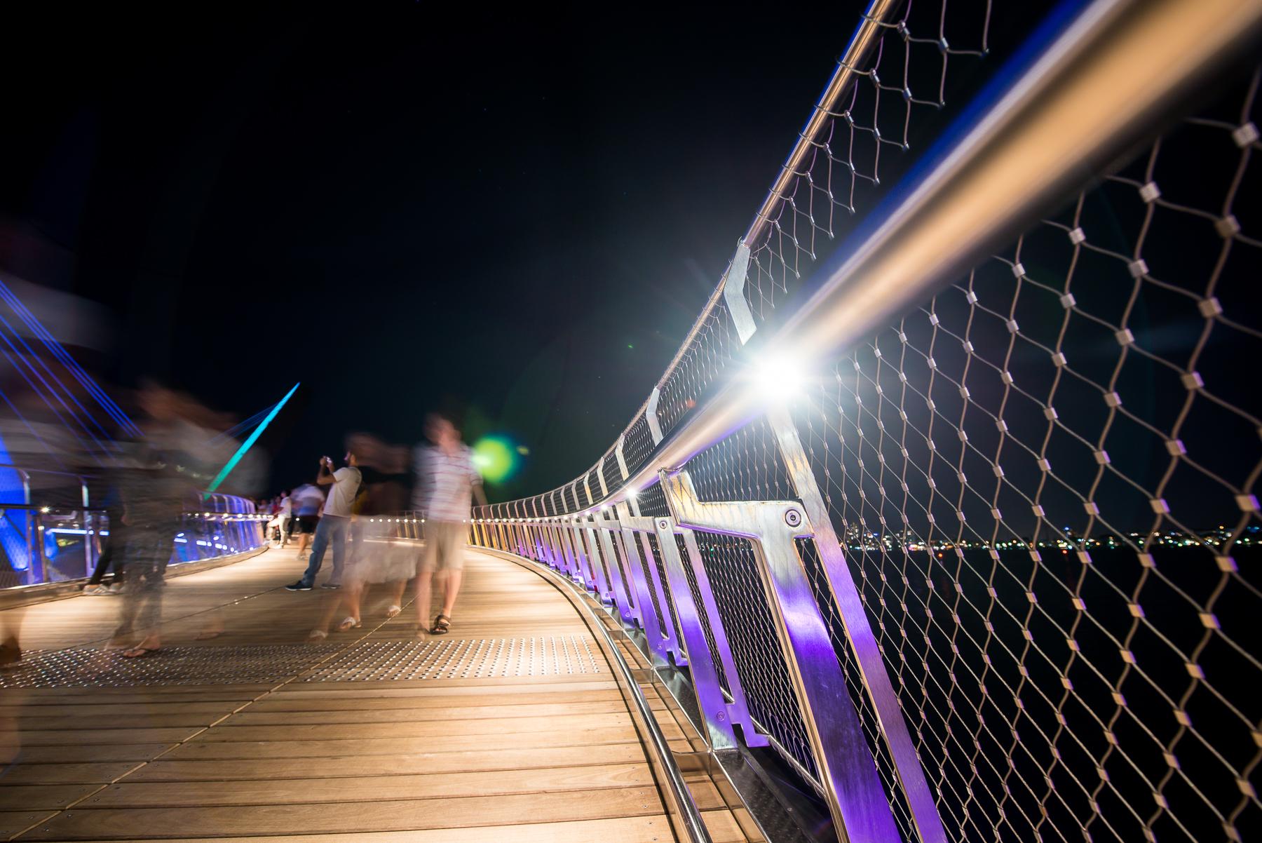 Elizabeth Quay Pedestrian Bridge